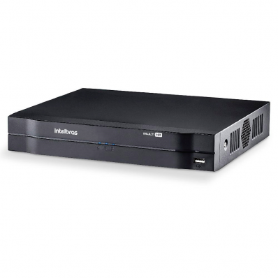 DVR Gravador Digital de Vídeo Multi HD 4 Canais MHDX 1004 - Intelbras